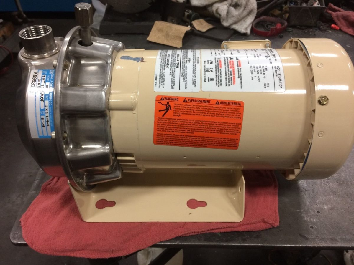 Centrifugal Pump Franklin Electric Motor Longoria